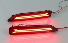 eOsuns LED running light + brake light, rear bumper light for honda crv 2007-9, city 2012-4, brv 2015-6, MOBILIO 2016-7, led bar