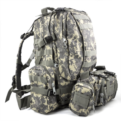 ФОТО DSGS 50 L 3 Day Assault Tactical Outdoor Military Rucksacks Backpack Camping bag