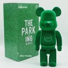 11 дюймов быть @ rbrick 400% Bearbrick стекаются мрачные BB ПВХ фигурку Коллекционная модель игрушки D212