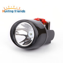 12pcs/lot Wireless LED Safety Miner Lamp KL3.0LM Waterproof Headlight Explosion Rroof Cap Lamp Rechargeable Head Flashlight