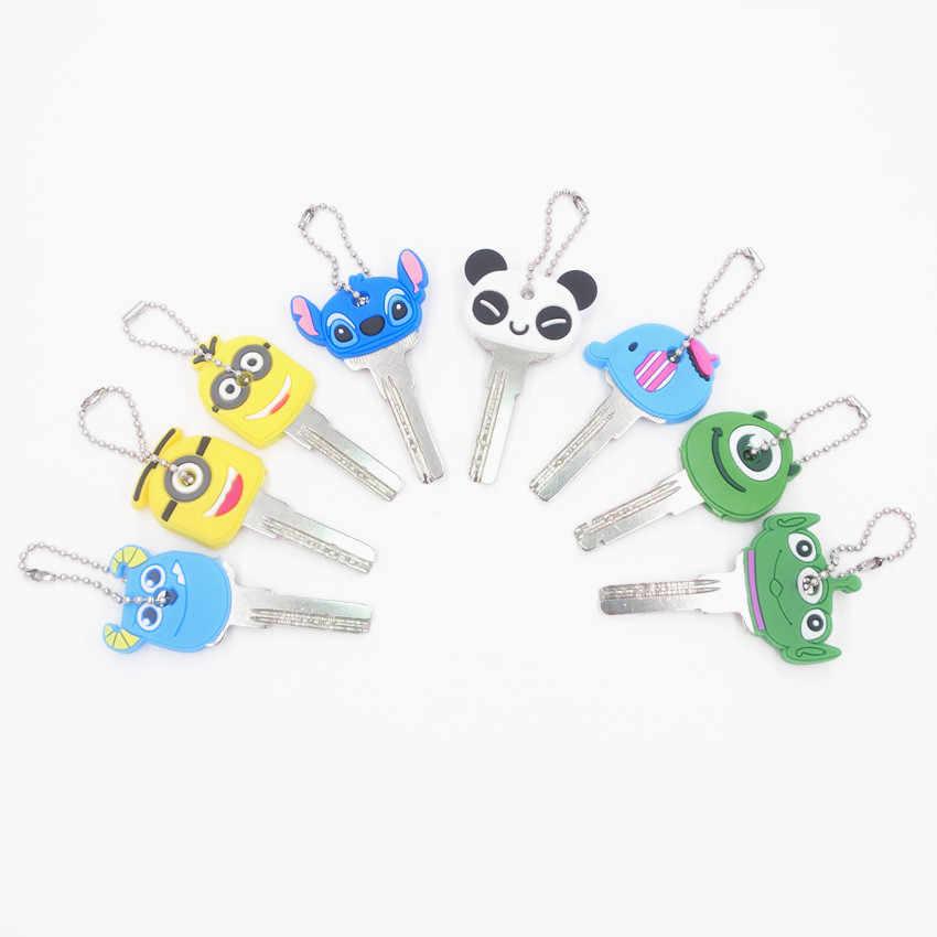 Moda Dos Desenhos Animados Mulheres Panda Bonito do Elefante Animal Pop Chaveiros Chave Pendurada de Jóias Senhoras Colhedor Keychain Por Atacado
