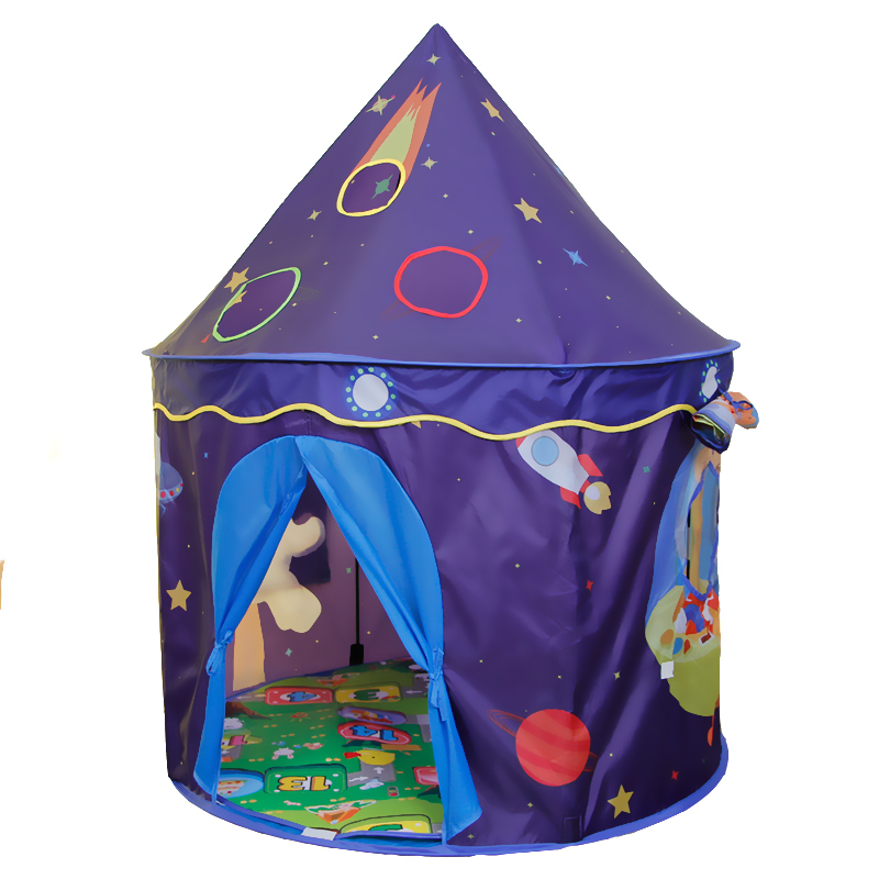 YARD Space Theme Toy Tent Kids Game House Baby Play Tent Child Gifts Castle Children Teepee Kid Tent foldable kid indoor tent kids outdoor playhouse children kids tent toys play tent game house indian teepee