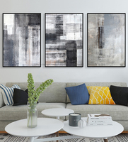 3 piezas canvas art Cuadros decoracion salon cuadros decorativos abstract for living room wall pictures black and white painting