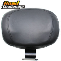 Motorcycle Leather Driver Rider Sissy Bar Seat Driver Backrest Back Rest For Honda VTX 1800