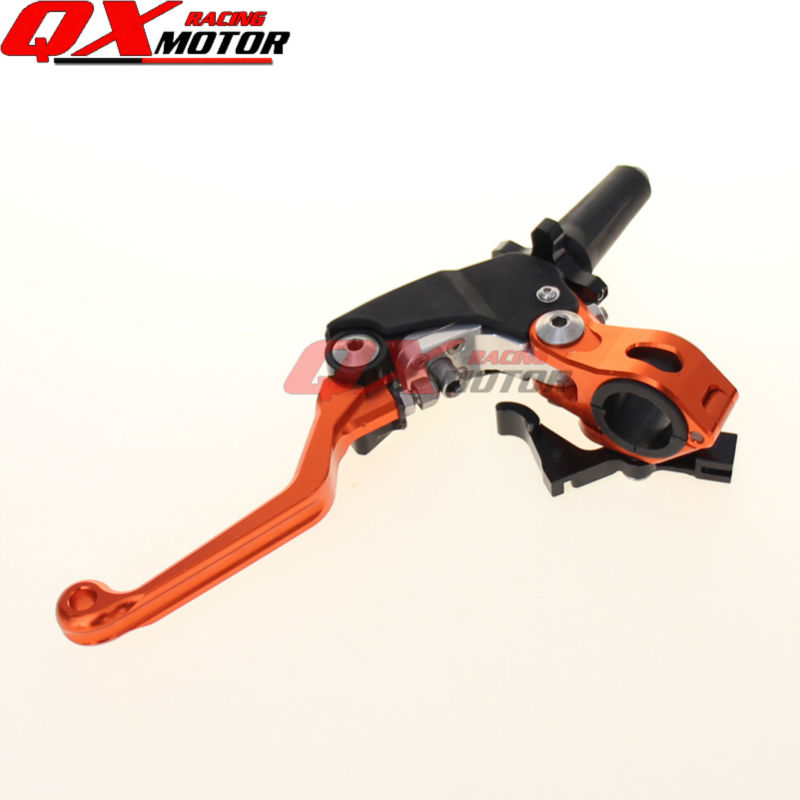 3 or 4 direction CNC Pivot Foldable Clutch Lever For KTM EXC EXCR XCW XCRW XC SX SXR SXF XCF 250 300 350 400 450 500 505 525 530 orange cnc billet factory oil filter cover for ktm sx exc xc f xcf w 250 400 450 520 525 540 950 990