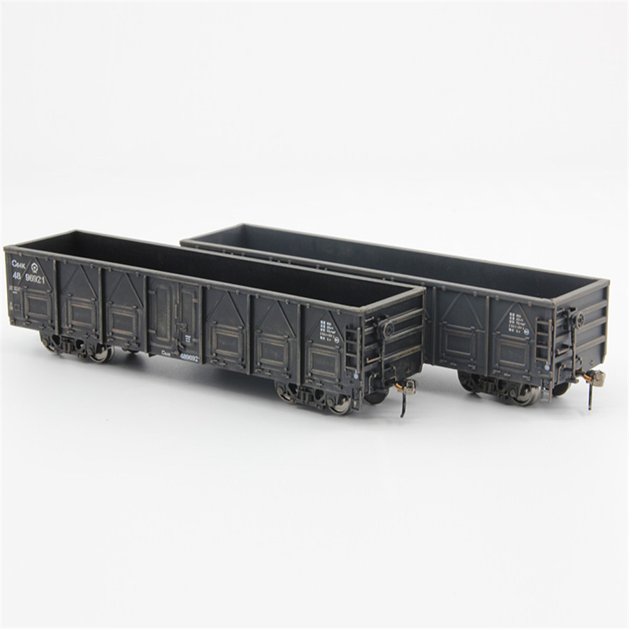 Modello 1:87 HO Container Carriage China Train Model scale C64K Gondola 20ft-in Model Building Kits from Toys & Hobbies    1