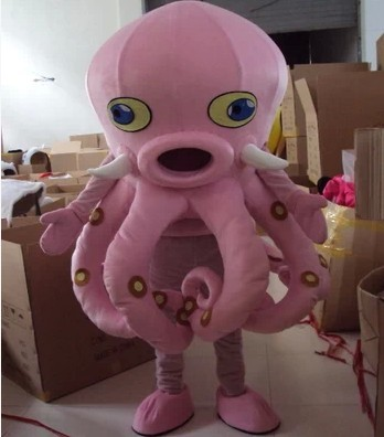 Octopus Devilfish Octopoda Octopi Mascot Costumes Cartoon Apparel Birthday party Masquerade