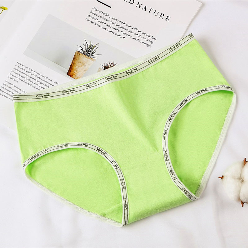 10 20Years Candy Color Cotton Teen Girls Briefs Teenage Triangle Breathable Girls Panties Young Low Waist Underwear in Panties from Mother Kids