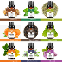 Essential Oils Pure Natural Aromatherapy Oil Fragrance Aroma Treatment 10ml can CSV