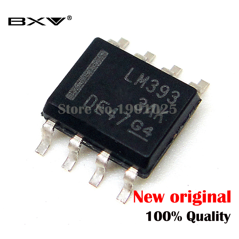 50PCS LM393DR SOP-8 LM393 SOP SMD New Original