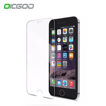 OICGOO 2.5D 0.26mm 9H Premium Tempered Glass For iphone 7 6 6s plus Screen Protector For iphone 6 7 6s 5 5s 4 protective glass