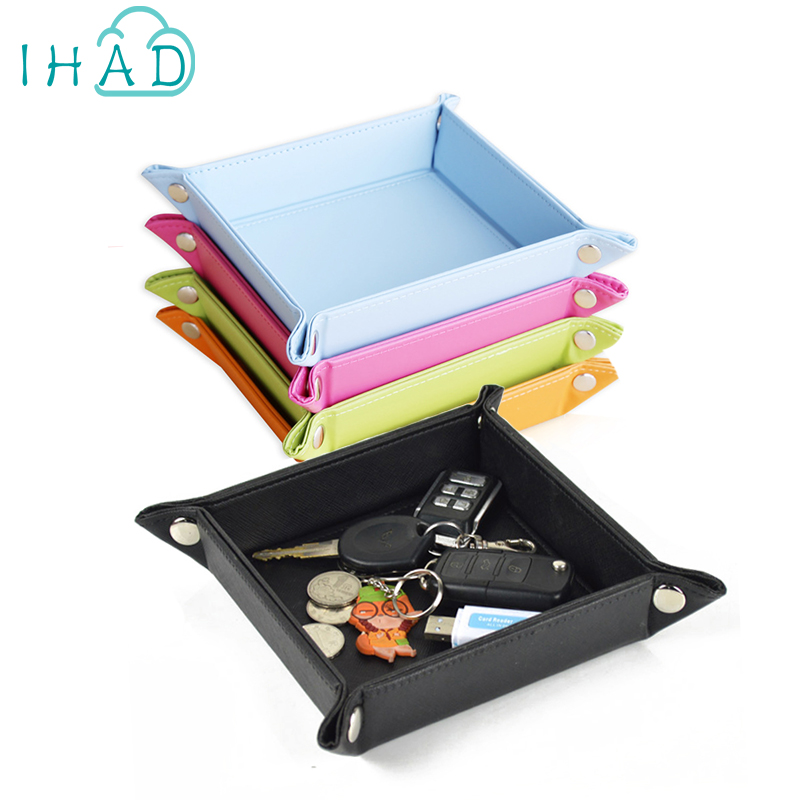 PU raktų organizatoriaus dėžutės monetų keitimas ir USB dėžė - Organizavimas ir saugojimas namuose