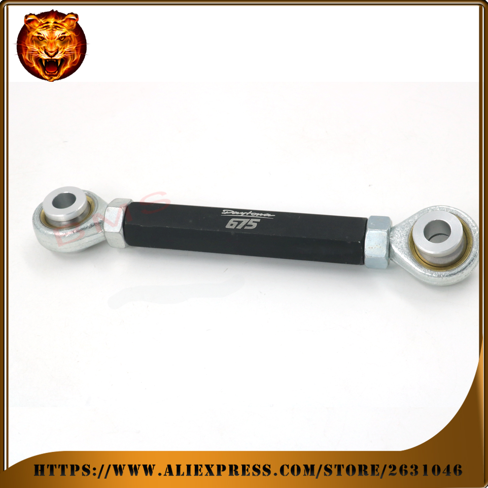 Motorcycle Threaded Ride Height Rear Adjustable Suspension Drop Link Lowering Kit For TRIUMPH DAYTONA 675R 675 free shipping 13