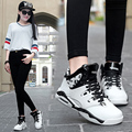 Autumn new high - top casual shoes for women version of the students shoes Korean couple trend hip - hop shoes