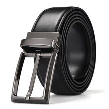 Luxury Genuine Leather Pin Buckle Belt For Men