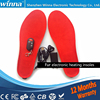 NEW Plush Electric Heated Insoles Winter Women Men Shoes Charging Insoles RED Foam Material EUR Size