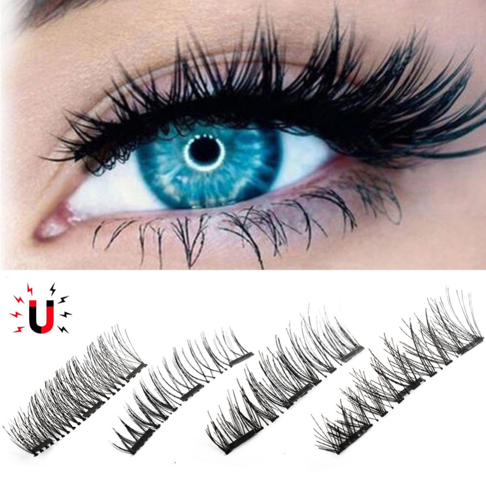 1Pair Natural False Eyelashes 3d Makeup Lashes Soft Eyelash Extension Fake Eyelashes Makeup Beauty False Eyelashes Drop Shipping