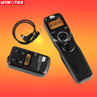 Wireless Timer Shutter Release Remote Control For Canon EOS 7D 6D 5D Series 1D Series 50D