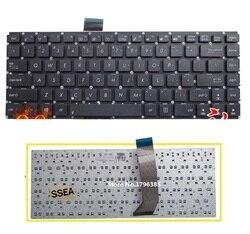 Клавиатура SSEA для ASUS X402/X402C/S400CB/S400C/S400/F402C/S451/s451Lb/S451L/S451E, без рамки
