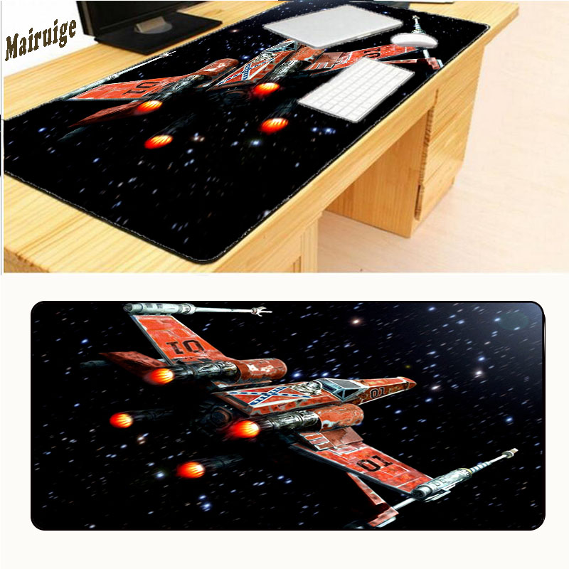 Mairuign Warriors Star Wars Movies Darth Free Shipping Gaming Rubber Mouse Pad Gamer Large Table Mat Overlock 900*400*3mm