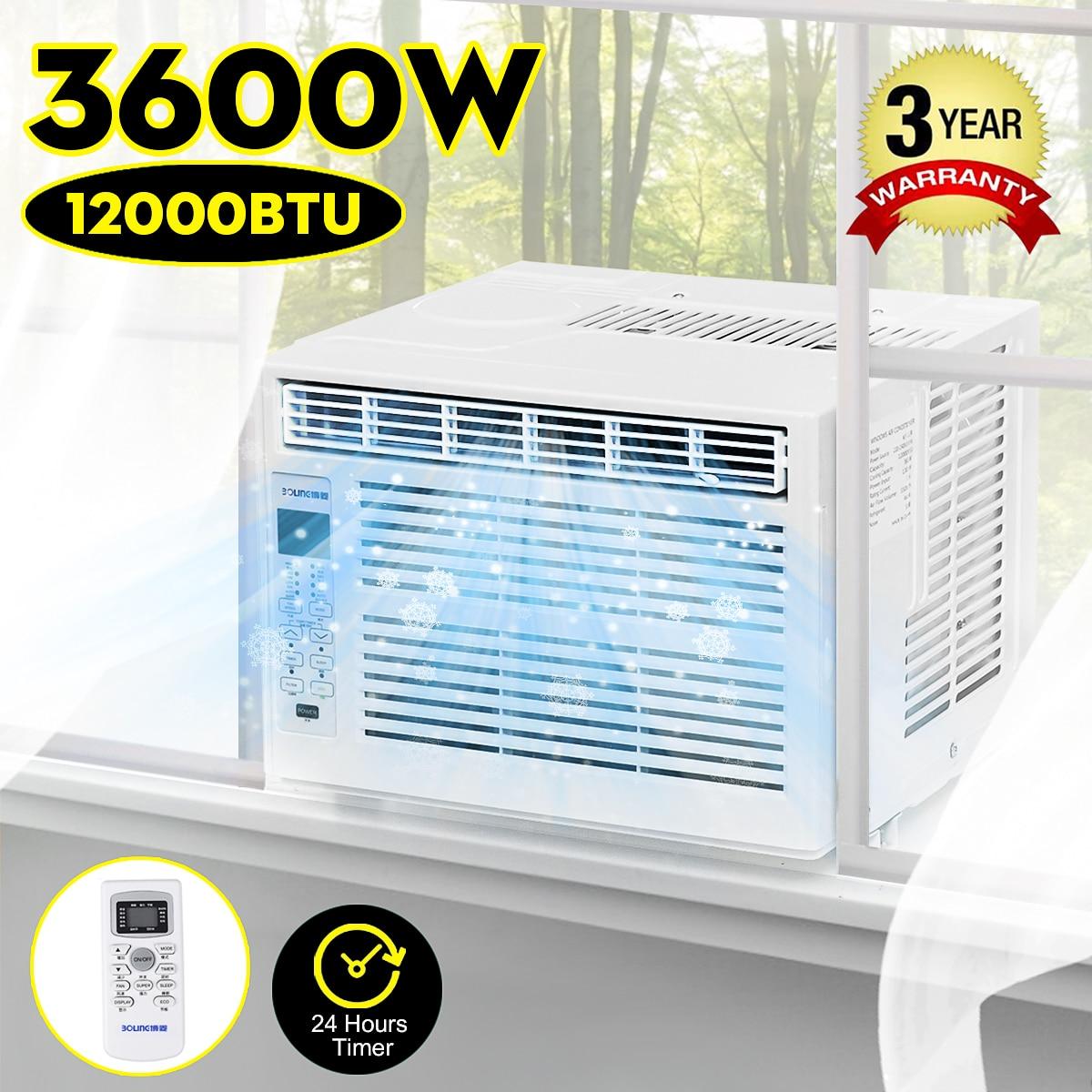 3600 W bureau climatiseur 24 heures minuterie froid avec télécommande LED panneau de commande 12000BTU Pet climatiseur AC220-240V