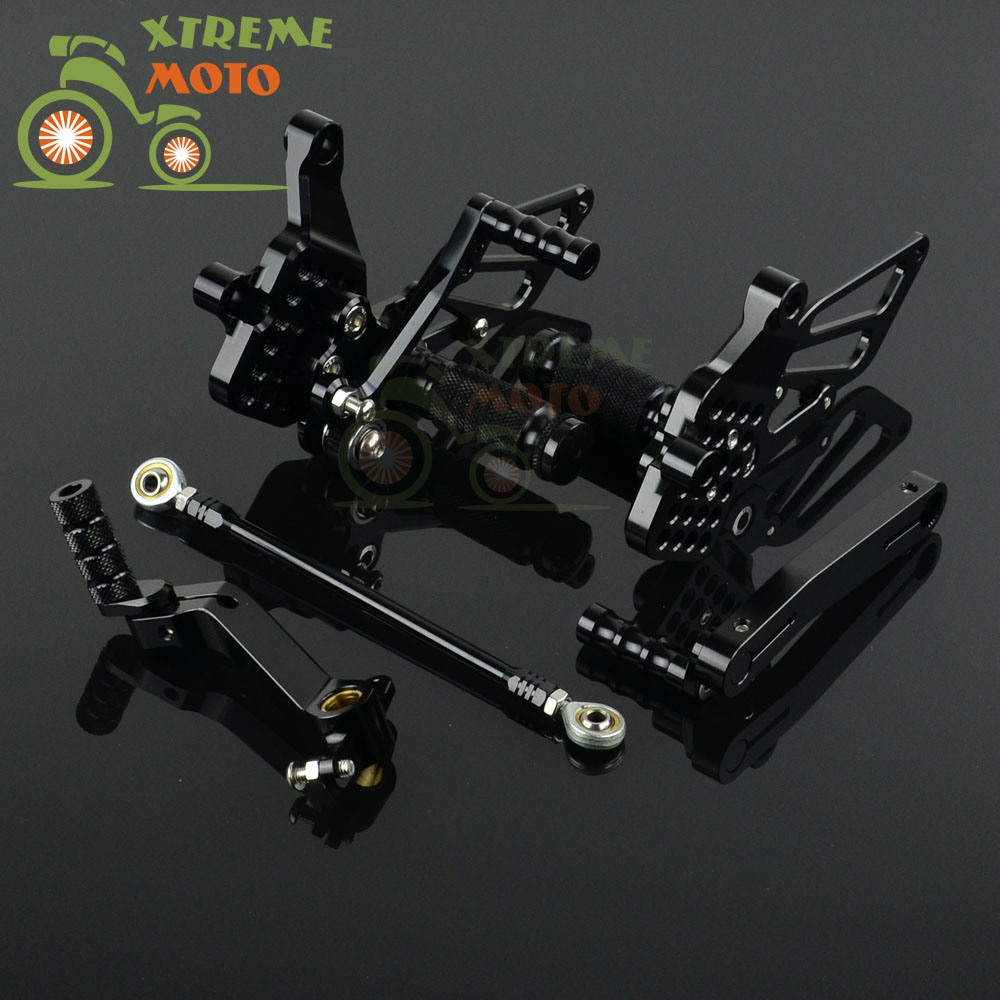 CNC Adjustable Motorcycle Billet Foot Pegs Pedals Rest For DUCATI 999 Motocross