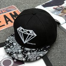 Hats Diamonds New Pattern Men Women Summer Baseball Hat Adult Women Korean  Dance Hats Teen Sportys 6b2ff78e0e