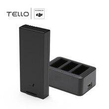 Батарея для полета DJI Tello Интеллектуальная батарея для полета Ryze Tello аксессуары для оригинального дрона Lipo 3,8 V 1100mAh FULLYMAX