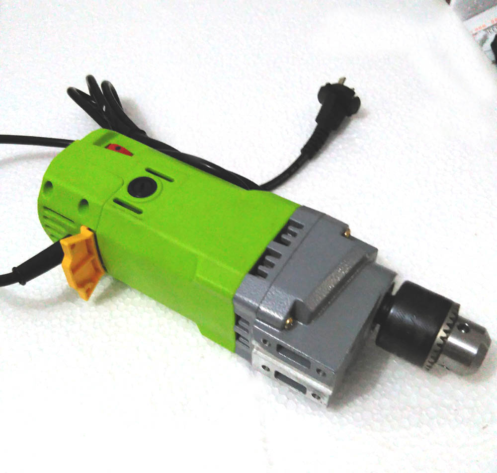 Mini Drilling Machine Drill Press Bench Small Electric Drill Motor Machine Work Bench Gear Drive 220v 710w gear box drive rotation assembly for baoma small hole edm drilling machine