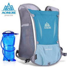 Sale AONIJIE New Outdoor Running Water Hydration Backpack Hiking Cycling Lightweight Sport Bag With Bottle Holder 1.5L Water Bag