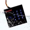 Teclado de toque Sistema de Leitor De Cartão De EM-ID Leitor de Cartão RFID para Controle de Acesso com Leitor de Cartão Wg26 ID Impermeável F1740A