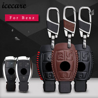 Icecare Car Key Cases For Mercedes Benz Accessories W203 W210 W211 W124 Smart 2 3 Button