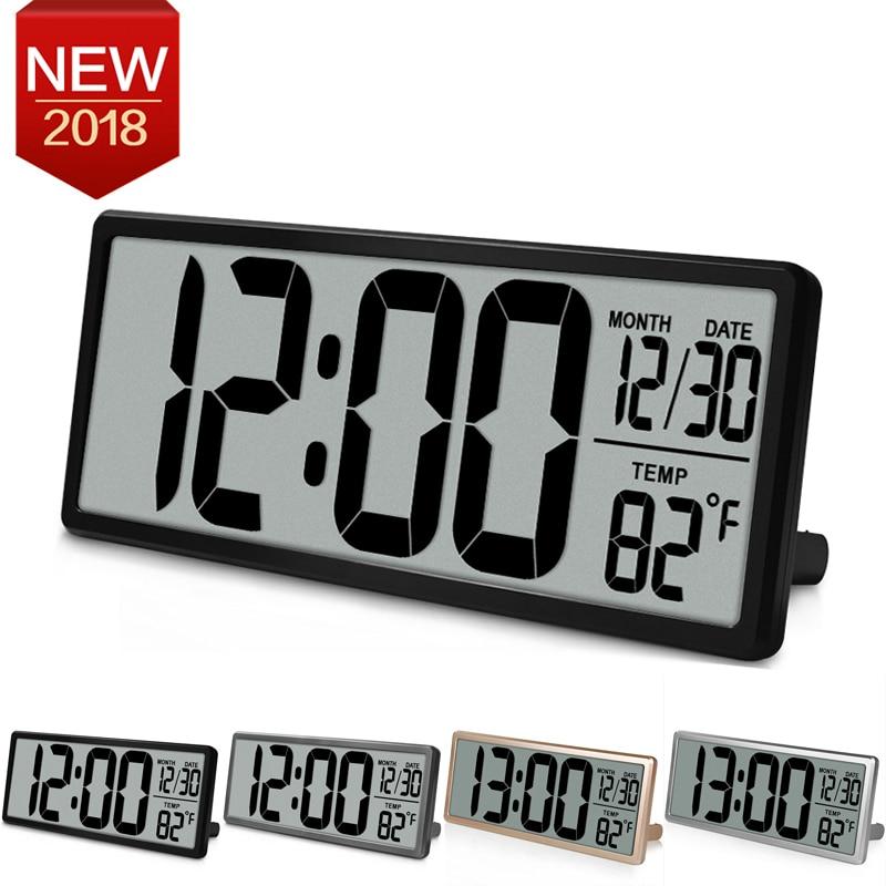 Extra Large Vision Digital Orologio Da Parete Jumbo Alarm Clock 13.8
