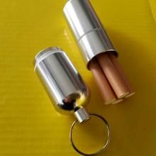 Портативный мини-чехол для сигарет из алюминиевого сплава с ящиками для хранения ключей/ящиками для сигарет, лекарств, травы, пряности, табак