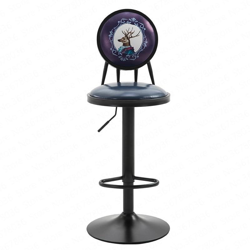 Bar Chair Lift Family Chair High Stool Creative Front Desk Bar Stool