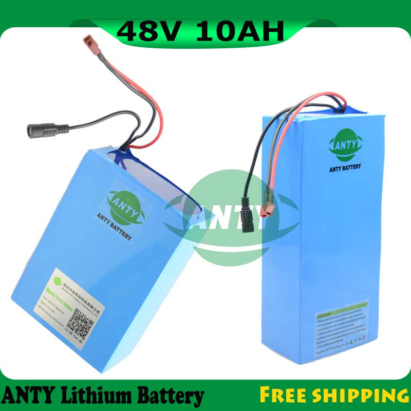 48V 10Ah 500W E-bike Battery Lithium Electric Bike 48V With 54.6V 2A Charger 15A BMS 48V Battery Pack 18650 Rechargeable Battery free customes taxes 48v 2000w electric bike battery 48v 35ah lithium ion battery pack for electric bike with charger bms