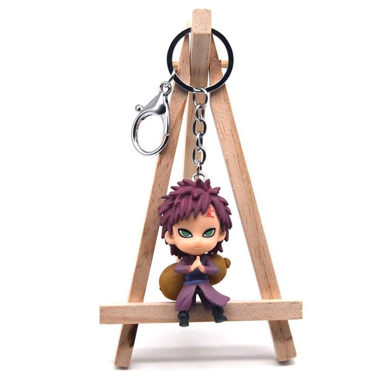 2019 New Naruto Acrylic Keychain Kakashi Gaara Sasuke Akatsuki Members Itachi Pendants Keyring Cosplay Surrounding Gift Llavero
