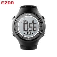 EZON marca L008 deporte relojes al aire libre Relojes digitales moda ocio ultradelgada Relojes deportivos 3ATM impermeable cronómetro alarma