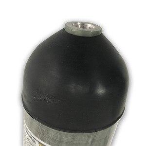 Image 5 - AC10391 Acecare PCP Gewehr 4500psi 3L Hochdruck Druckluft Carbon Faser/Paintball Zylinder/Tank/Zubehör mit kappe tasse