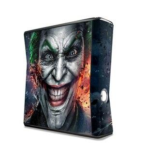 Image 3 - Pegatina de vinilo protectora para juego, superventas, para Microsoft Xbox 360 slim y 2 skins de controlador para consola x box 360