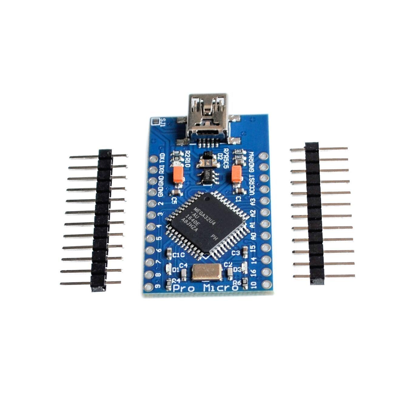 Pro Mini ATmega32U4 5V 16MHz Replace ATmega328 Pro Tools For Arduino bu31