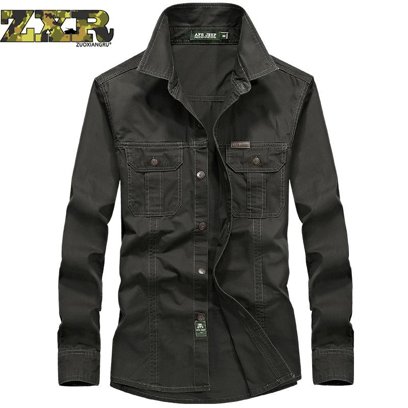 Battlefield джип Для мужчин армии ветры натуральный хлопок с лацканами Для мужчин чистый Цветная рубашка моды мужской пиджак пальто одежда высок... ...