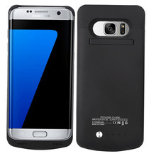 NTSPACE Battery Case For Galaxy S7 S7 Edge Battery Charger Case External Backup Pack Power Bank For Samsung Galaxy S7 Edge Cover