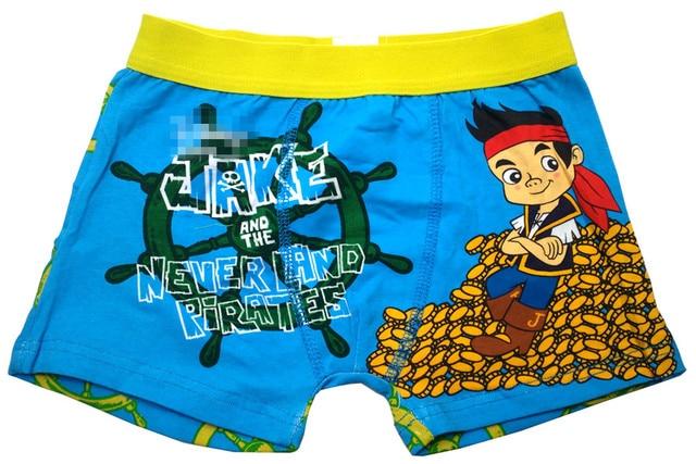 e7f2e4cdfb Boy's Boxer 2017 New Jack Pirate Ship Neverland Children Underwear Boys  Short Panties Baby Boy Briefs