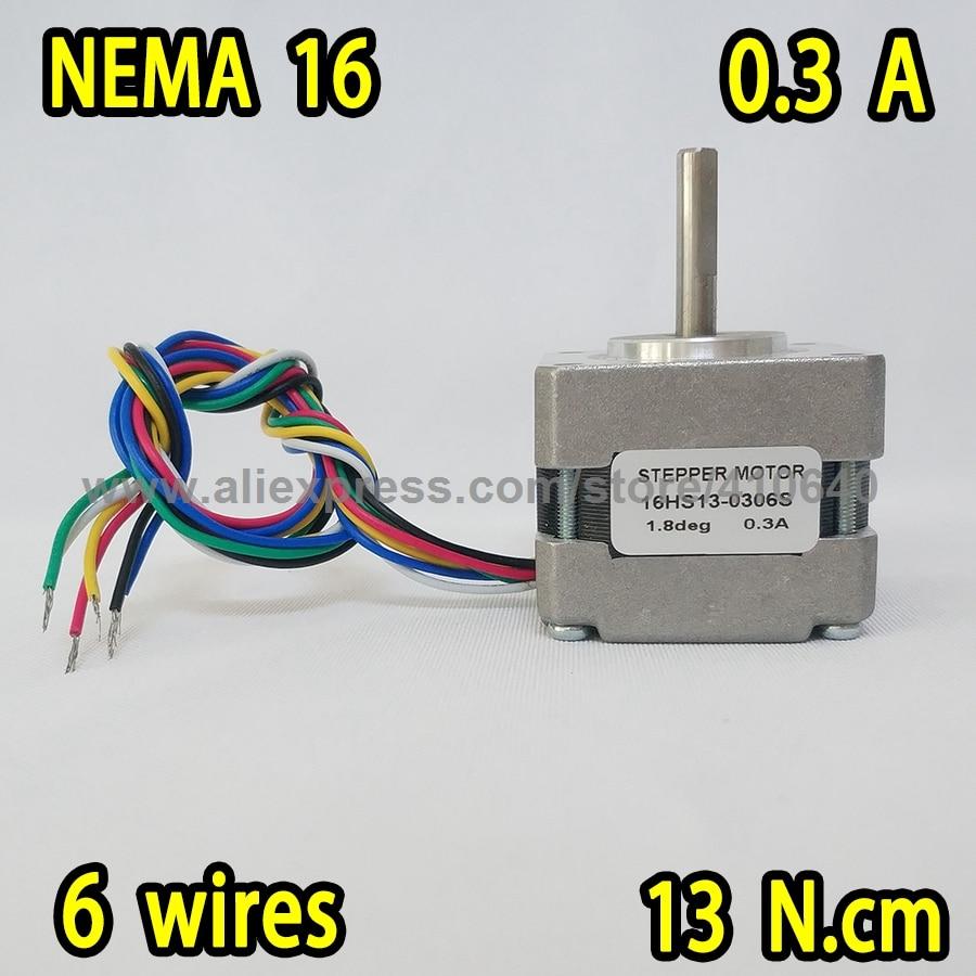 ᓂLIVRAISON GRATUITE moteur pas à pas 16HS13 0306S L 34mm Nema16