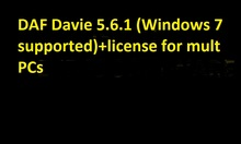 Davie XDc II Runtime 5.6.1 (Windows 7 supported)+license forDAF ( Solved Expire Error 300-02)