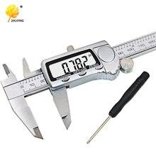 Cheap price JIGONG 150mm 6inch Large LCD Digital Caliper 0-150mm Large Screen Electronic digital vernier caliper micrometer