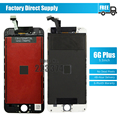 No Dead Pixel For iPhone 6 Plus LCD Display With Touch Screen Digitizer Assembly Black White Free Shipping