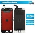 No dead pixel para iphone 6 plus display lcd com tela de toque digitador assembléia branco preto frete grátis