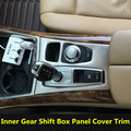 Interior Car Gear Box Panel Cover Trim For BMW X5 E70 2008-2009  X6 E71 2009